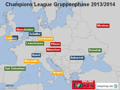 Champions League Gruppenphase 2013/2014