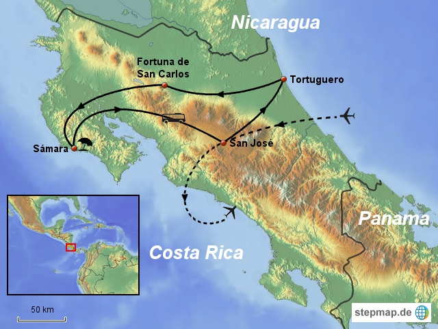 Costa Rica 8 Tage