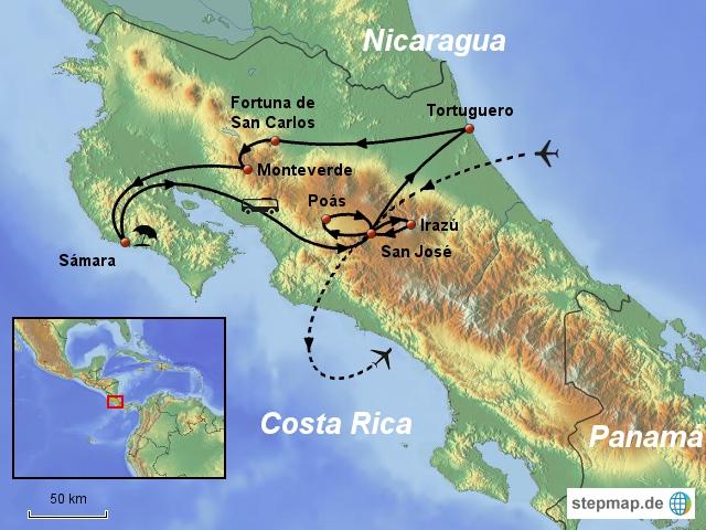Costa Rica 15 Tage
