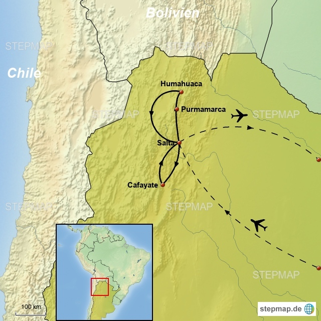 Argentinien Nord Igazú