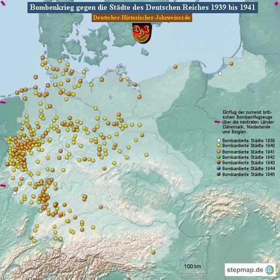 Bombenkrieg gegen die Städte des Deutschen Reiches 1941