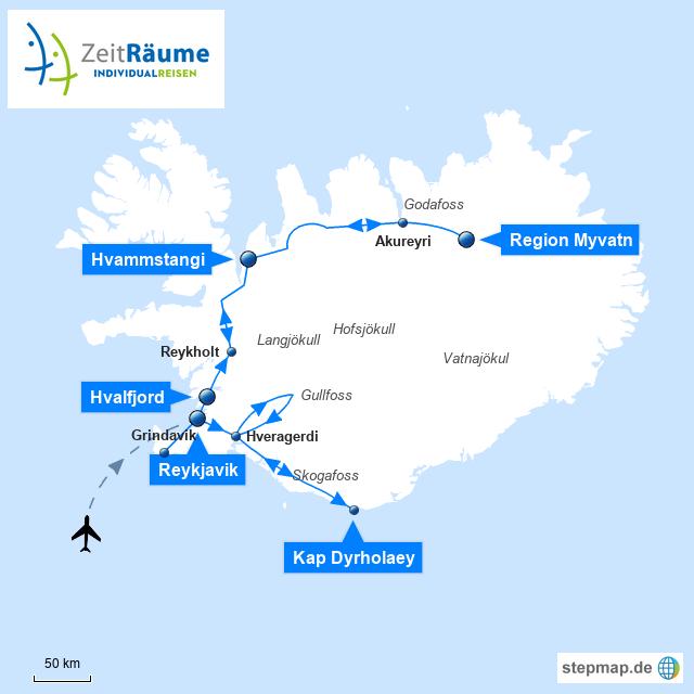 520 - Island Gruppenreise - Erlebnis Nordlicht & heiße Quellen