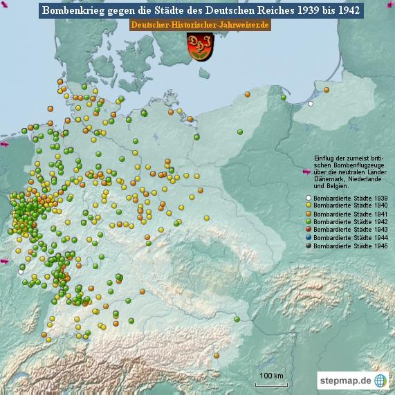 Bombenkrieg gegen die Städte des Deutschen Reiches 1942