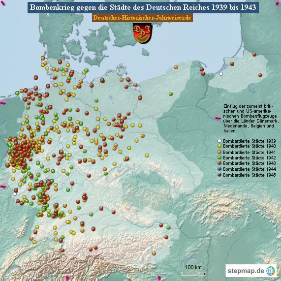 Bombenkrieg gegen die Städte des Deutschen Reiches 1943