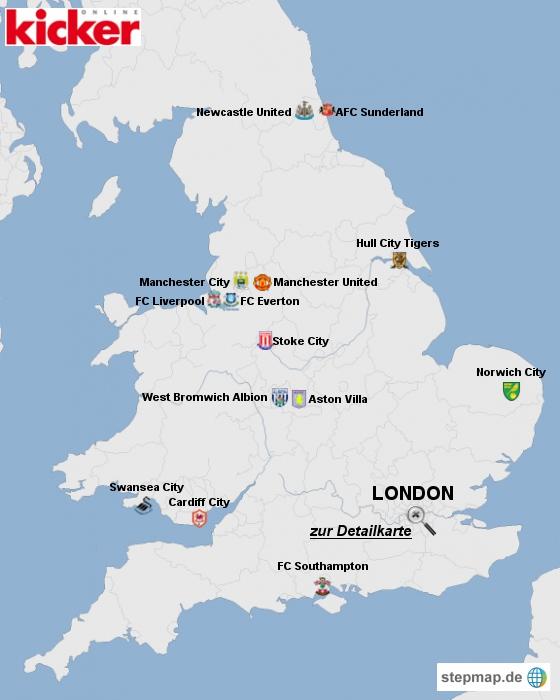 Premier League Mannschaften
