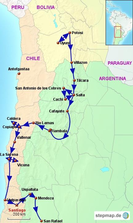 Argentina/Chile North