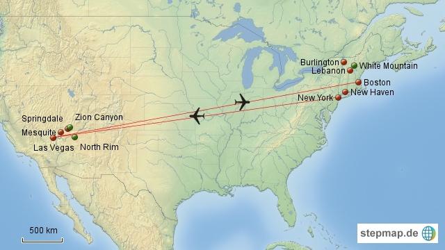 Unsere USA-Reise