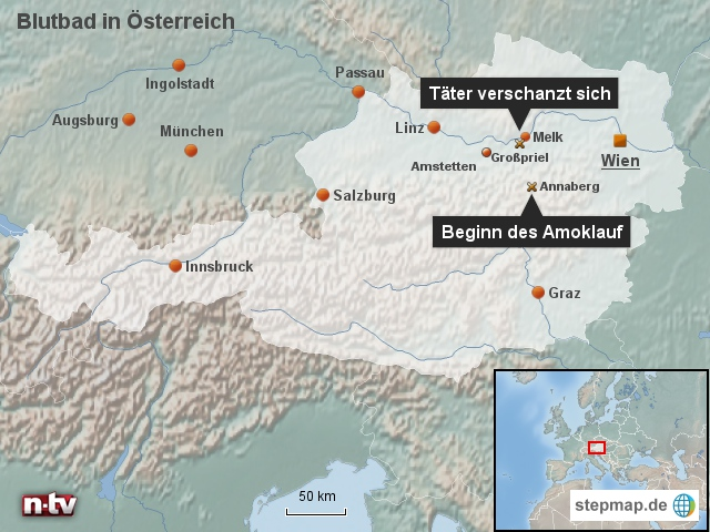 Blutbad in Österreich