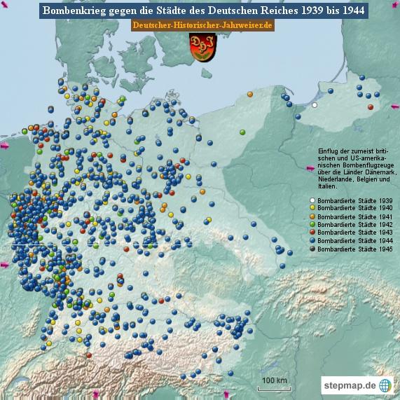 Bombenkrieg gegen die Städte des Deutschen Reiches 1944