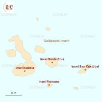 Routenkarte zur Reise Insel-Hopping: Reise in die Urwelt