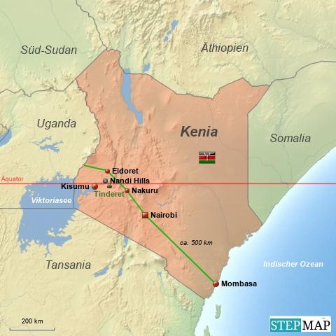 Kenia Übersicht