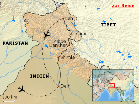 Spiti, Tso Moriri und Ladakh - Trekking und buddhistische Kultur im Himalaya