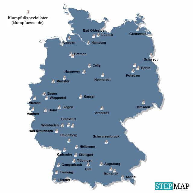 Klumpfußspezialisten in Deutschland