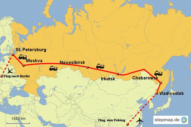 Weltreise Russland