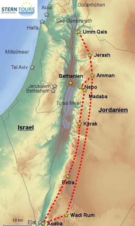 Jordanien intensiv