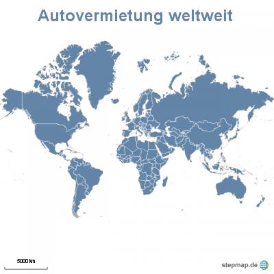 Autovermietung weltweit