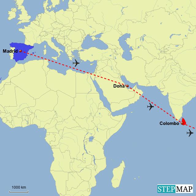 Doha Karte Welt.Trail Life Stop Over In Katar