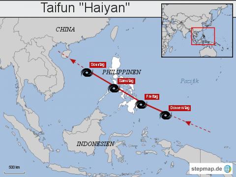 """Taifun """"Haiyan"""""""