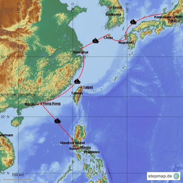 2013 von Kanazawa nach Manila