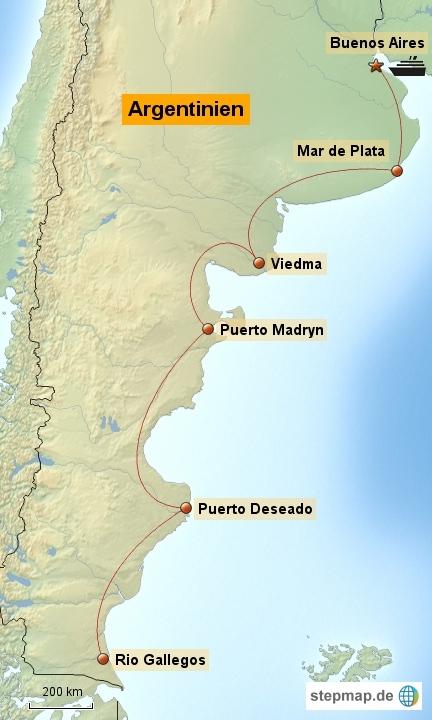 Argentinische Ostküste