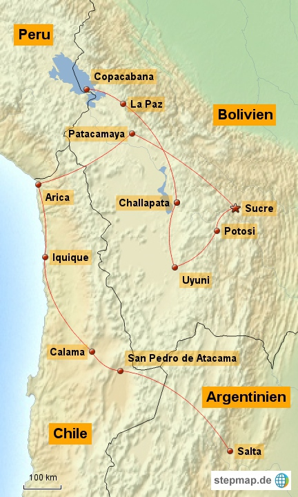 Nord Chile & Bolivien