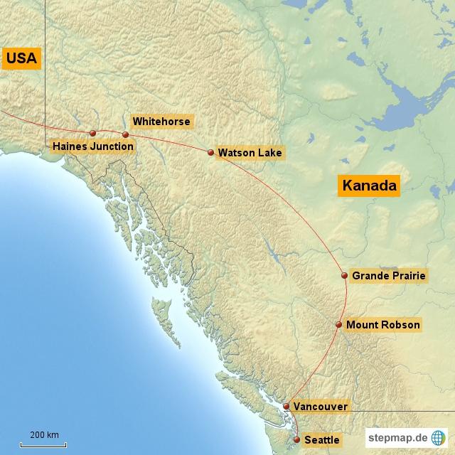 Routenabschnitt_Kanada