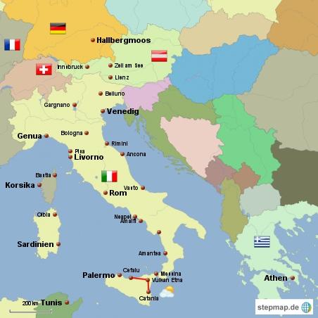 Sizilien Karte ätna.Italien Reisebericht Sizilien Und Der Vulkan ätna