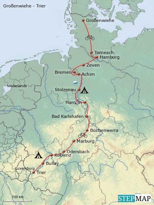 Großenwiehe - Trier