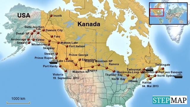 Kanada 2013-2