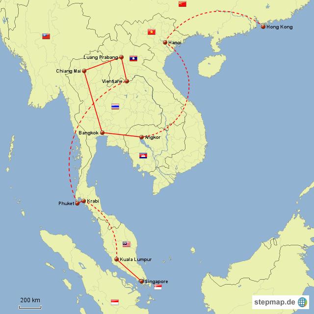 Südostasien 2011