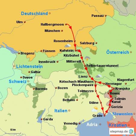 österreich Reisebericht Von München über Die Felbertauern
