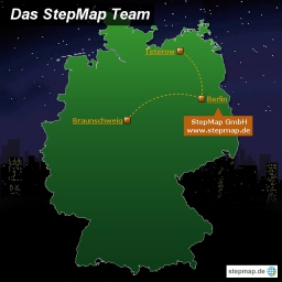 StepMap Teamkarte
