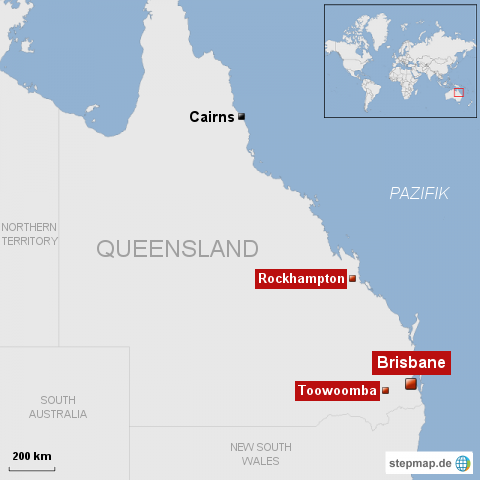 Hochwasser erreicht Brisbane