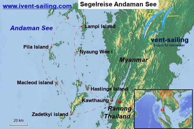 Segeln Myanmar