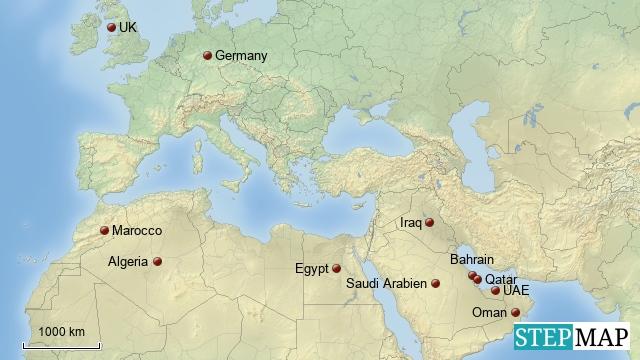 GPE - UAE, Qatar und Oman - Control System