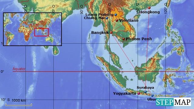 Südostasien 2014