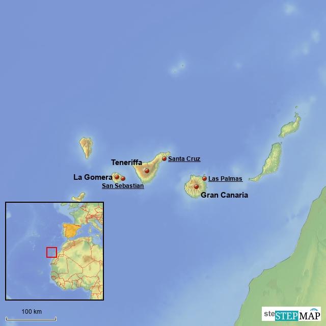 Atmockritz on Tour auf den Kanarischen Inseln 2008