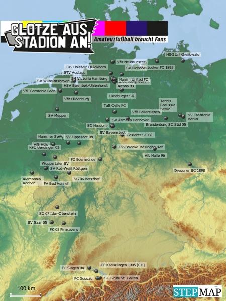 GASA-Unterstützer-Karte
