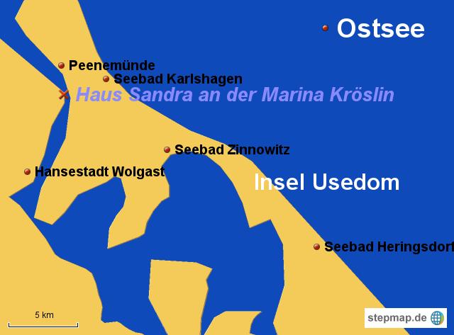 Ferienwohnungen an der Marina Kröslin