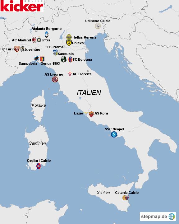 serie a italien tabelle