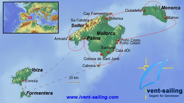 Segelreise Mallorca