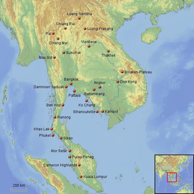 Herr Lehmann goes around the world - Südostasien