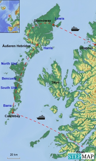 Distance2OuterHebrides