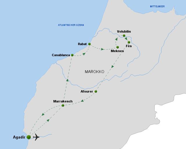 oeger.de_Marokko – Zu den Königsstädten