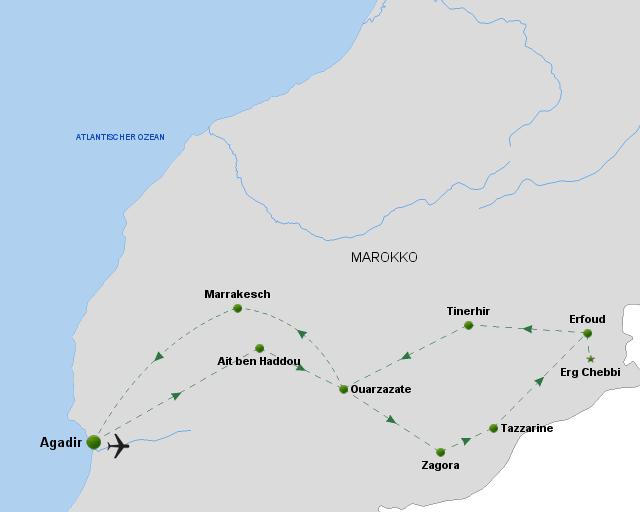 oeger.de_Marokko – Kasbahs, Wüsten & Oasen