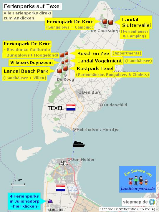 Texel Ferienparks Villen Ferienh 228 User Camping Ihre Top10