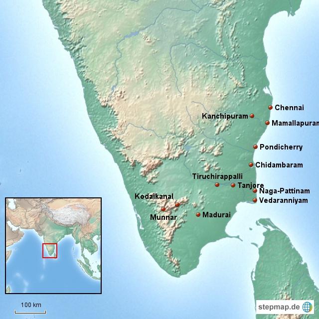 Rundreise Tamil Nadu
