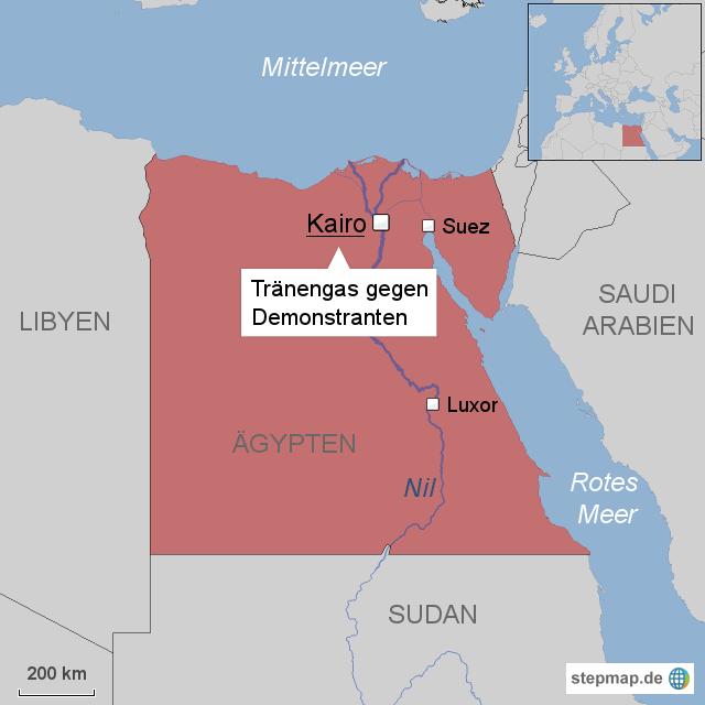 Massenproteste in Ägypten - Schießbefehl gegen Demonstranten?