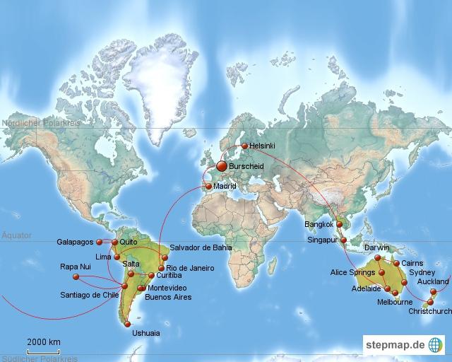 Weltreise 2008-2009