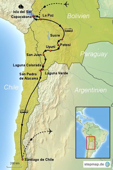 Bolivien-Chile